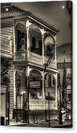 905 Royal Hotel Acrylic Print by Greg and Chrystal Mimbs