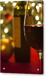 A Drink By The Tree Acrylic Print by Andrew Soundarajan