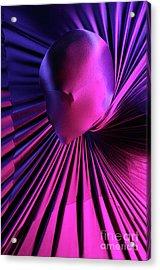 Abstract Human Head Acrylic Print by Oleksiy Maksymenko