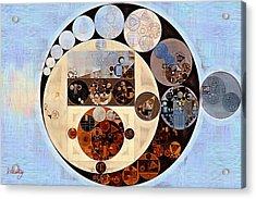 Abstract Painting - Link Water Acrylic Print by Vitaliy Gladkiy