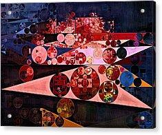 Abstract Painting - Eruption Acrylic Print by Vitaliy Gladkiy