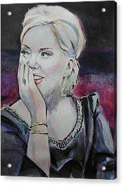 Adele Soundalike Contest Acrylic Print by Lucia Hoogervorst