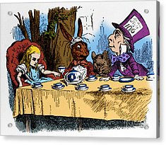 Alice In Wonderland Acrylic Print by Photo Researchers, Inc.