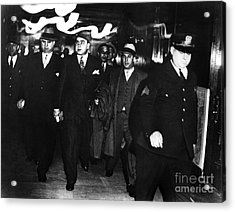 Alphonse Capone (1899-1947) Acrylic Print by Granger