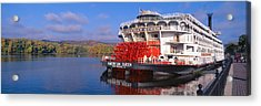 American Queen Paddlewheel Ship Acrylic Print by Panoramic Images