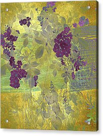 Antiqued Acrylic Print by Jessica Jenney