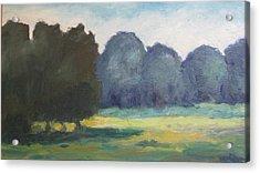 Arkansas Meadow Acrylic Print by Sharon Franke