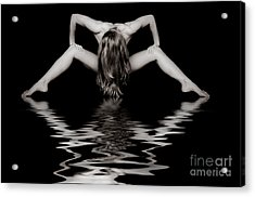 Art Of A Woman Acrylic Print by Jt PhotoDesign