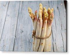 Asparagus Acrylic Print by Nailia Schwarz