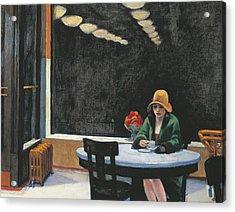Automat Acrylic Print by Edward Hopper