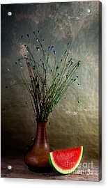 Autumn Still Life Acrylic Print by Nailia Schwarz