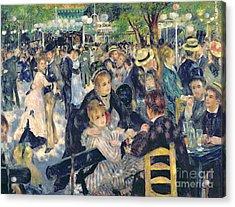 Ball At The Moulin De La Galette Acrylic Print by Pierre Auguste Renoir