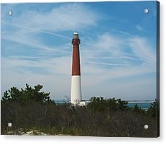 Barnegat Lighthouse - New Jersey Acrylic Print by Bill Cannon