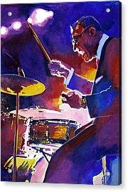 Big Band Ray Acrylic Print by David Lloyd Glover