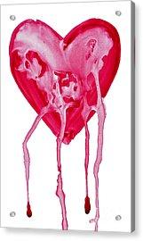 Bleeding Heart Acrylic Print by Michal Boubin