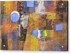 Blended Fragments Acrylic Print by Melody Cleary