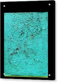 Blue Acrylic Print by Radoslaw Zipper
