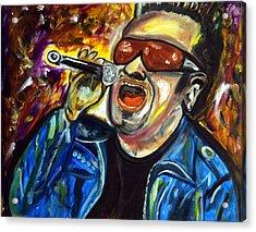 Bono  Acrylic Print by Azalea Millet