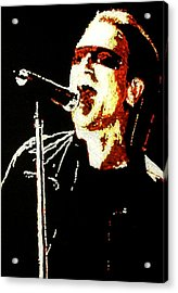 Bono Acrylic Print by Grant Van Driest