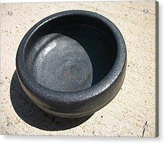 Bowl On Wheel A Acrylic Print by Leahblair Jackson