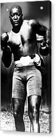 Boxer Jack Johnson, Ca. 1910s Acrylic Print by Everett