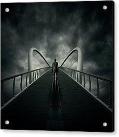 Bridge Acrylic Print by Zoltan Toth