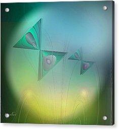 Butterflies 4 Acrylic Print by Iris Gelbart