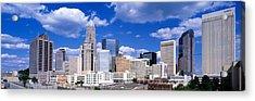 Charlotte, North Carolina, Usa Acrylic Print by Panoramic Images