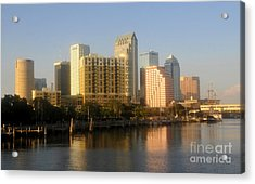 City By The Bay Acrylic Print by David Lee Thompson