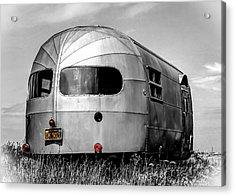 Classic Airstream Caravan Acrylic Print by Ian Hufton