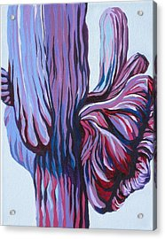 Color Me Purple Acrylic Print by Sandy Tracey