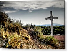 Cross Of The Martyrs Acrylic Print by Diana Angstadt