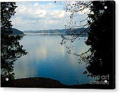 Cumberland Lake Acrylic Print by Anne Kitzman