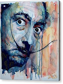 Dali Acrylic Print by Paul Lovering