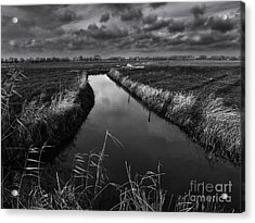 Damme, Belgium Acrylic Print by Stephen Smith