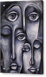 Dreamers Acrylic Print by Michael Lang