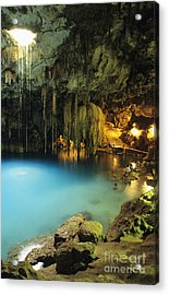 Dzitnup Natural Well Acrylic Print by Bill Schildge - Printscapes