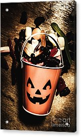 Fall Of Halloween Acrylic Print by Jorgo Photography - Wall Art Gallery