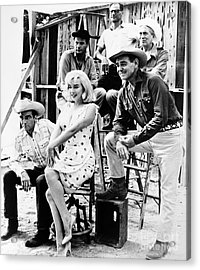 Film: The Misfits, 1961 Acrylic Print by Granger