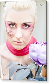 Flower Girl Acrylic Print by Jorgo Photography - Wall Art Gallery