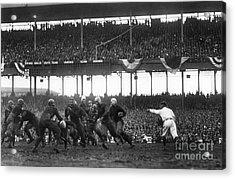 Football Game, 1925 Acrylic Print by Granger