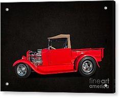 Ford Pickup Acrylic Print by Jim  Hatch