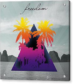 Freedom  Acrylic Print by Mark Ashkenazi