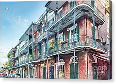 French Quarter Architecture Acrylic Print by Tod and Cynthia Grubbs