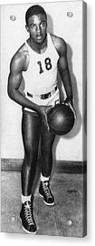 Future Brooklyn Dodger Jackie Robinson Acrylic Print by Everett
