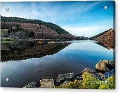 Geirionydd Lake Acrylic Print by Adrian Evans