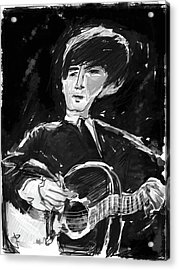 George Acrylic Print by Russell Pierce