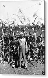 Giant Corn Man Acrylic Print by Gerhardt Isringhaus