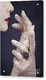Glamour Girl Acrylic Print by Svetlana Sewell