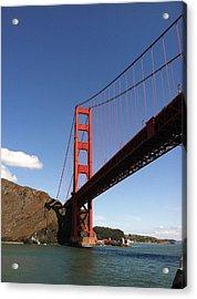 Golden Gate Bridge Acrylic Print by Eliot Jenkins